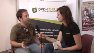Oliver Robins im Interview auf dem 1. Weekend of Horrors in Wien - DVD-Forum.at