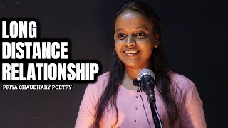 LONG DISTANCE RELATIONSHIP | Priya Chaudhary | Poetry | The Ink Art