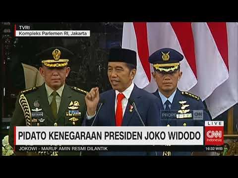 FULL! Pidato Kenegaraan Presiden Joko Widodo