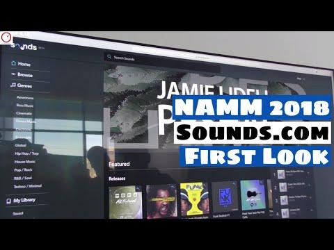 NAMM 2018: Native Instruments Sounds.com...