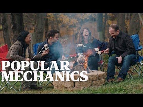 The Bucket List: How to Build a Fire Pit | Popular Mechanics + YETI LoadOut Bucket