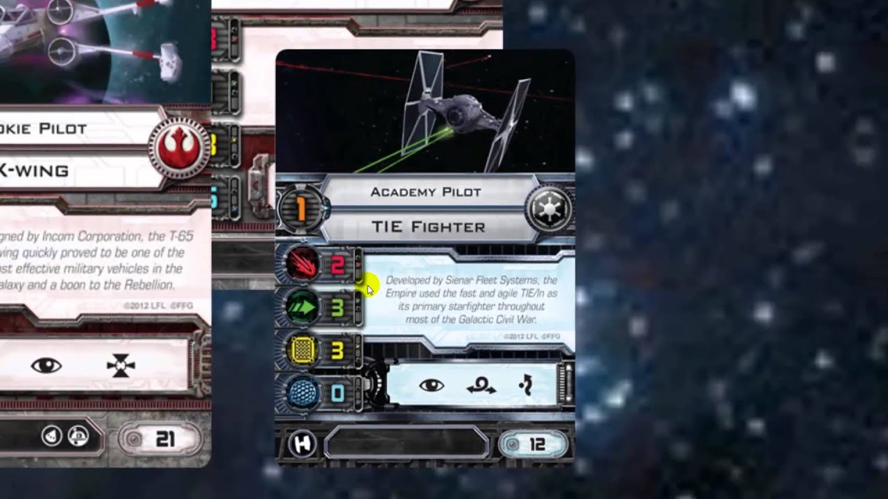 X Wing Strategy Tips Ep 11 - Building 150 pt Squads