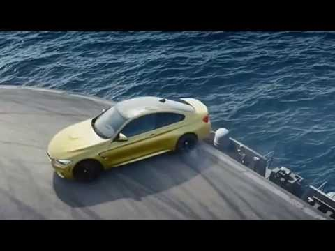 BMW M4 Coupé Reklamı - Ultimate Racetrack - Uçak gemisinde drift show