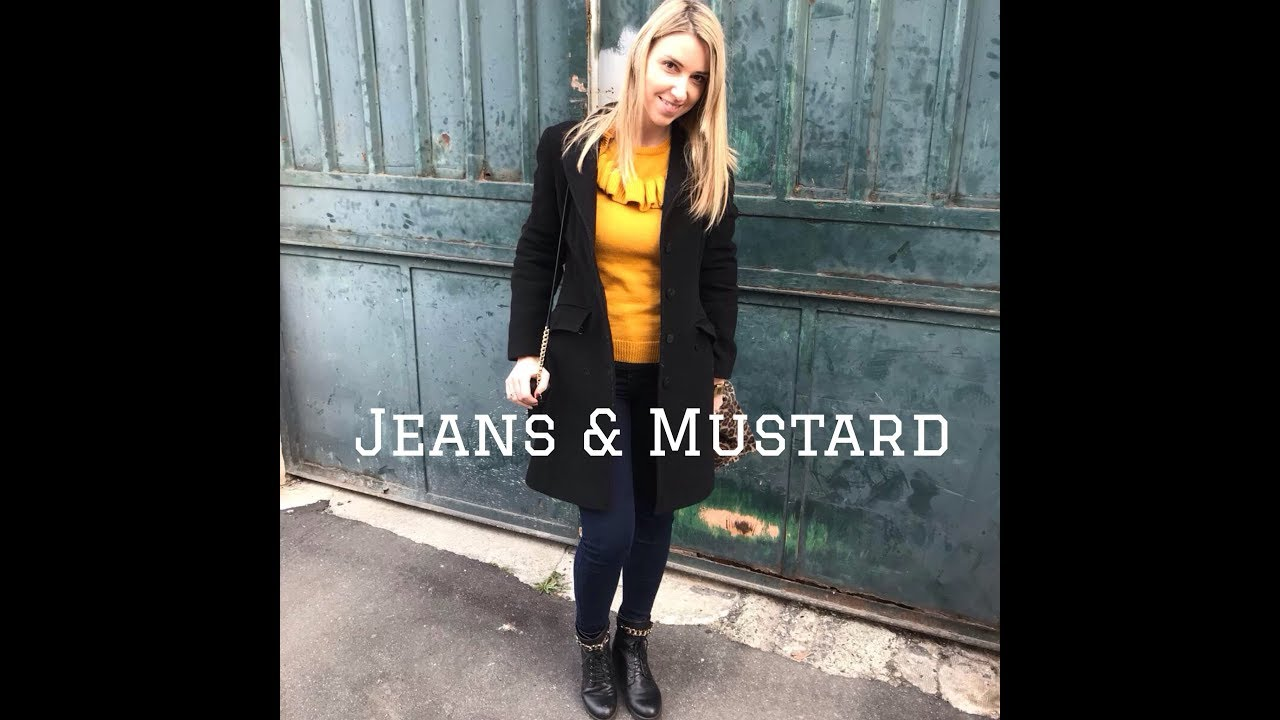 OOTD - JEANS & MUSTARD - YouTube