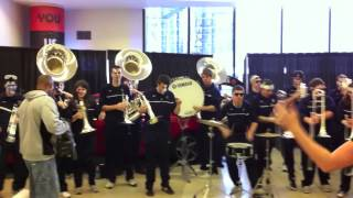 uconn pep band at 2011 big east championship in nyc cold hearted