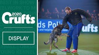West Midlands Police Dog Display Team take over Crufts 2020