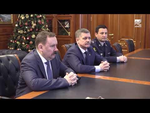 Глава КЧР Р.Темрезов провел рабочую встречу с Директором ФСИН РФ А.Калашниковым
