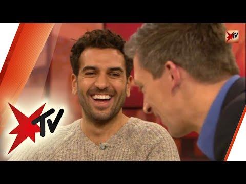 Elyas M'Barek bei stern TV  Der ganze Talk  stern TV 01.11.2017