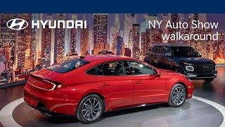 New York Auto Show | SangYup Lee Live Walk-Around with all-new Hyundai Venue + 2020 Sonata | Hyundai