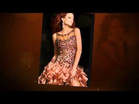 cheap short prom dresses under 100 - www.prom4girl.com - YouTube