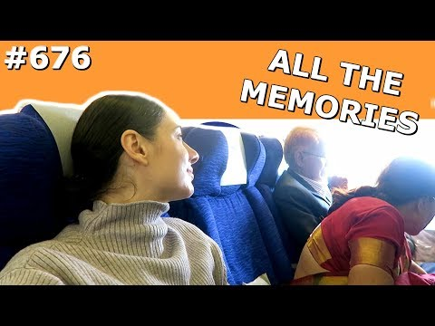BRITISH AIRWAYS FLIGHT MUMBAI AMSTERDAM DAY 676 | TRAVEL VLOG IV