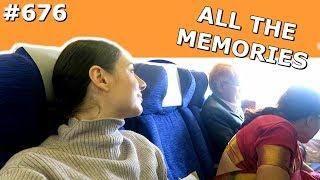 BRITISH AIRWAYS FLIGHT MUMBAI AMSTERDAM DAY 676 | TRAVEL VLOG IV