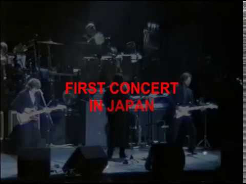 George Harrison Eric Clapton Live In Japan - December 1, 1991 COMPLETE VIDEO  Part 1
