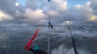 DZIADY retrospekcja czyli wave kitesurfing Grzesiek Orkan od tyłu / by WAKE.PL