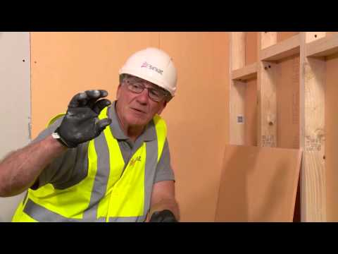 HOW TO - Board a bathroom or wetroom
