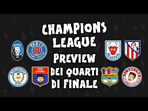 PREVIEW dei Quarti di finale di Champions League ► OneFootball x 442oons