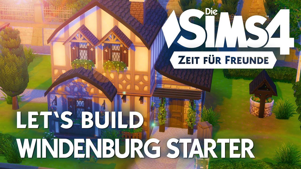 die sims 4 let 39 s build windenburg starter haus bauen in zeit f r freunde deutsch youtube. Black Bedroom Furniture Sets. Home Design Ideas