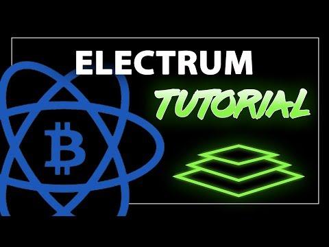 Electrum Wallet Tutorial - Beginner's Guide to Storing Bitcoin