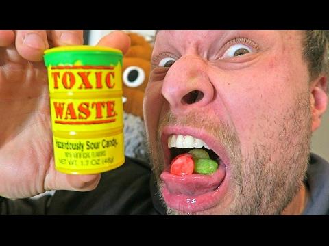 EXTREME TOXIC WASTE CHALLENGE!