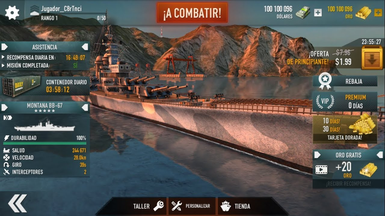 BATTLE OF WARSHIPS || Hack Mod APK 1.62.2 || NO ROOT