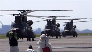 音量注意! 陸上自衛隊 木更津航空祭に行ってきました。 CH-47Jチヌーク...