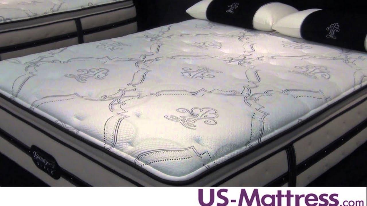 Simmons Beautyrest Black Brooklyn Plush Pillow Top Mattress  YouTube