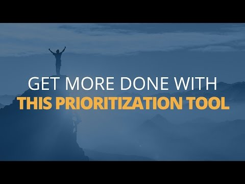 How to Get More Done Using this Prioritization Tool | Brian Tracy
