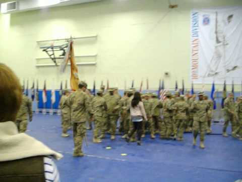 010412 Welcome Home Ceremony For 548th CSSB Fort Drum