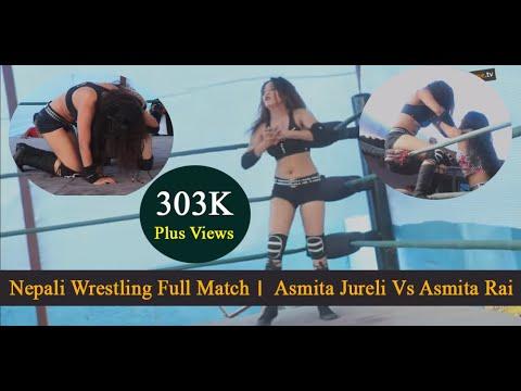 Asmita Jureli Vs Asmita Rai । Wrestling Nepal। Full Match 2018