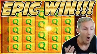 EPIC WIN! Legacy of Ra Big win - HUGE WIN on Casino slot from Casinodaddy LIVE Stream