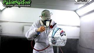 James Ellison's special Motorcycle Live Helmet