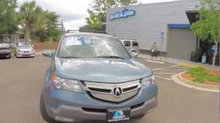 Autoline's 2007 Acura MDX 3.7 Technology w/ RES  Walk Around Review Test Drive