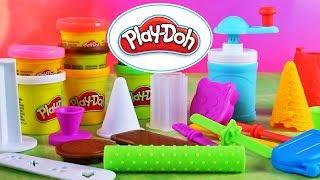 Play Doh Kitchen Creations • Lodowe słodkosci • kreatywne zabawki