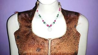 kurti collar neck design cutting and stitching in hindi   neck design for kurti/kameez