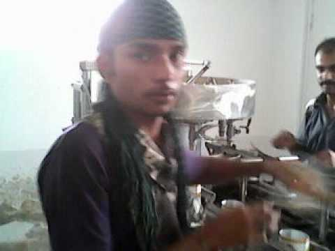 Semi Auto matic tetra pack filling plant by shoaib jarral