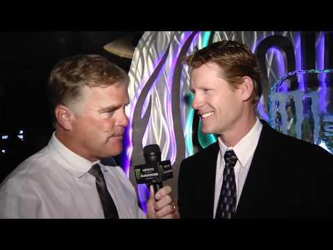 Supercross - Las Vegas 2011 - Broc Glover at Award...