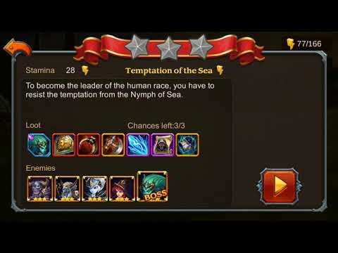Heroes Charge Chapter 20 Elite 1-6 No Hero vip and 3 star