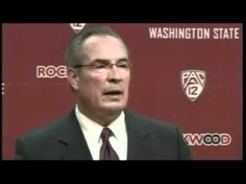 WSU Athletic Director Bill Moos Press Conference On Firing Coach Wulff