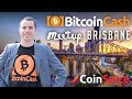 Roger Ver video calls into Brisbane - Bitcoin Cash meetup