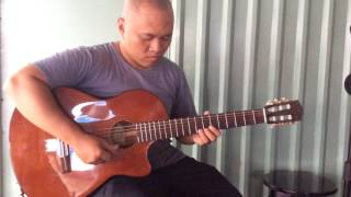 Misty acoustic guitar , lol :D