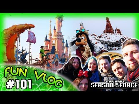 Disneyland Paris im Schnee - Season of the Force 2018 - Erstbesuch von Pia & Moritz | FunVlog #101