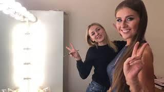 Галя Присташ готовится к эфиру пост-шоу Холостяк 8