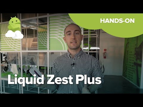 Hands on with the shampoo-sounding Acer Liquid Zest Plus
