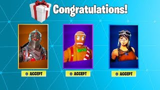*NEW* GIFTING OVER 100 RARE SKINS! (Gifting System Update!) | How To Gift Skins In Fortnite!