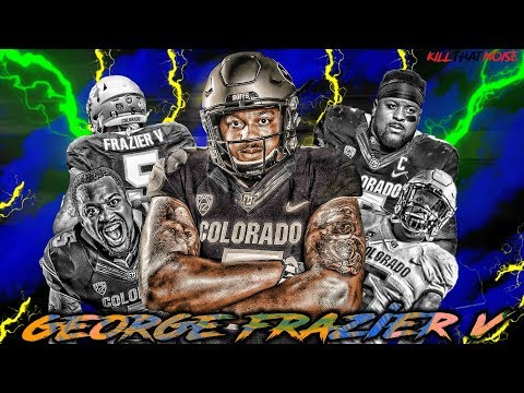 Colorado Superstar George Frazier V Interviews with Kill That Noise - NFL Draft - Colorado Football