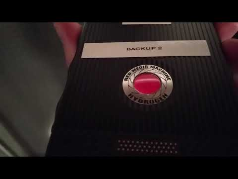 RED Hydrogen One - Hands on 01-short clip