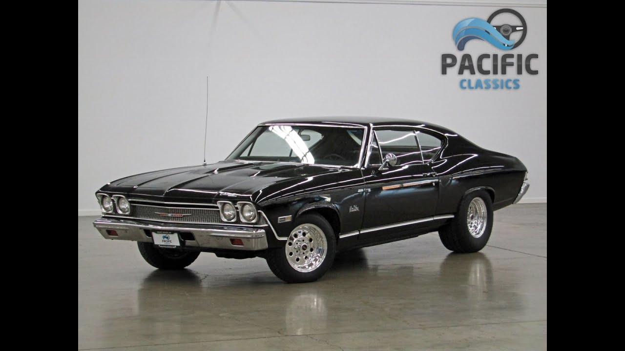 1968 Chevrolet Chevelle Black 396 4