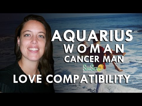 Aquarius Woman Cancer Man – Difficult To Connect