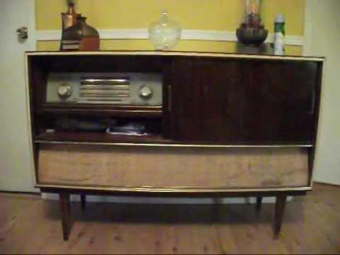 Kuba Antique Floor Model Stereo Youtube