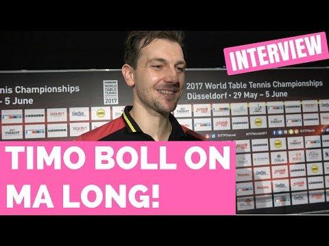 TIMO BOLL ON MA LONG - WORLD CHAMPIONSHIPS 2017!